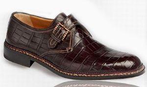 ботинки Moro Monk Strap от Testoni $38000